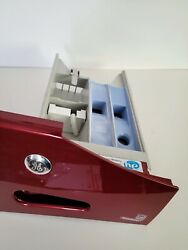 Ge Washer Dispenser Drawer Tray Wcvh6800jimv Used Working Red Clean Front Load