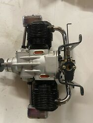 OS 270 twin for RC with CH ingition kit
