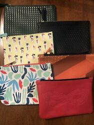 Lot of 6 Ipsy Make up Bags New Without Makeup Cosmetic Bags $7.40