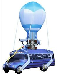 Fortnite Battle Bus 17.5 Foot Inflatable - Great For Party Or Halloween