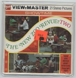 View-master B 567 The New Zoo Revue Two Sealed Unopened Free Shipping