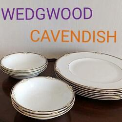 Wedgwood Cavendish Discontinued Dinner Plate Sheets Salad Dish