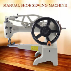 11.8'' Diy Patch Leather Sewing Machine Tabletop Manual Shoe Repair Boot Patcher