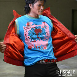 Michael Jackson Beat It Video Accurate Amour T-shirt Thriller Sleeveless