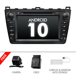 Cam+obd+carplay+8car Dvd Gps Android 10 For Mazda6 Stereo 2011 2012 Radio Touch