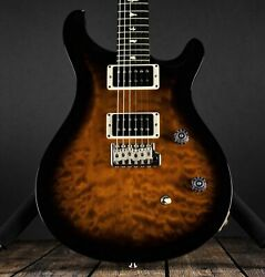 Paul Reed Smith Prs Ce 24- Quilt Top Black Gold Burst Custom Color
