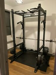 Force Usa Myrack With Fitness Gear Weights Look At Pictures And Read Description