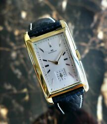 A Rare And Stunning Vintage 1930 Jumbo Size Curved International Watch Company