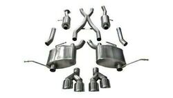 Corsa 14992 2.5 Dual Cat-back Exhaust 14-20 Jeep Grand Cherokee Summit Edition