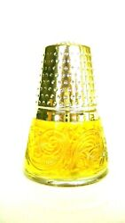 Avon Golden Thimble - Bird Of Paradise - With Cologne New