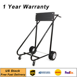 Outboard Boat Stand Carrier Cart Heavy Duty Tool Dolly Storage Motor 315 Lbs