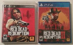 Red Dead Redemption Ps3, Great Cond. + Rdd 2 Ps4, Brand New Factory Sealed
