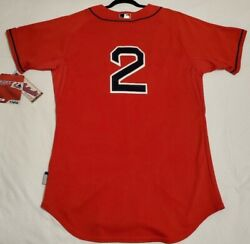 Authentic Majestic 48 Xl Boston Red Sox Xander Bogaerts Cool Base Jersey