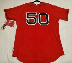 Authentic Majestic 52 2xl Boston Red Sox Mokkie Betts Cool Base Jersey