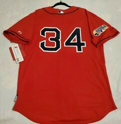 Authentic Majestic, Size 48 Xl, Boston Red Sox David Ortiz, Red Cool Base Jersey