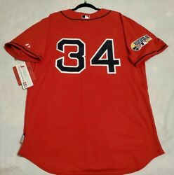 Authentic Majestic, Size 52 2xl Boston Red Sox David Ortiz, Red Cool Base Jersey