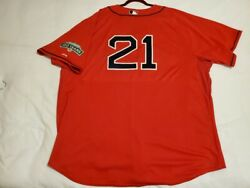 Authentic Majestic Size 60 4xl, Boston Red Sox, Roger Clemens Cool Base Jersey