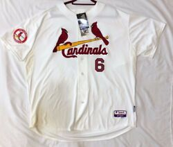 Authentic Majestic, 60 4xl, St. Louis Cardinals, Stan Musial, Cool Base Jersey