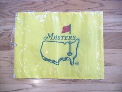 1998 Undated Masters Golf Official Pin Flag Augusta National Very Rare Pga New