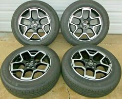 18and039 Ford Bronco Sport Outer Banks Oem Wheels And Tires