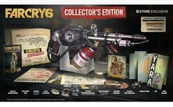 Far Cry 6 Collectorand039s Edition Ps4/ps5 Sony Playstation 5 +flamethrower Fast Ship