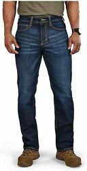 5.11 Tactical Menand039s Defender-flex Straight Jeans Mechanical Stretch Fabric Cla