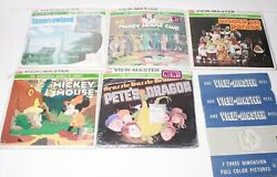 3d View-master Lot Vintage Disney Mickey Mouse Reels Sets