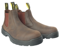 Outback Survival Gear - New Aussie Boot Soft Toe Brown - Aunbn