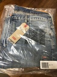 Leviand039s Menand039s 569 Loose Straight Jeans Size 38x30 Brand New