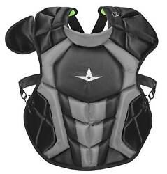 All Star System7 Axis Nocsae Certified Youth Baseball Catcherand039s Chest Protector