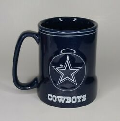 Dallas Cowboys Nfl Officially Licensed Ceramic Boelter Coffee Mug Cup Large 18oz