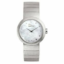 Christian Dior Cd041110m003 Baby D 23mm Womenand039s Stainless Steel Watch