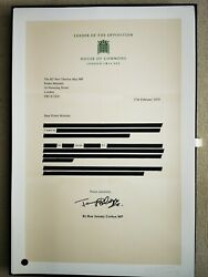 Connor Brothers - Dear Prime Minister - Signed Print - Ed.120 - Size 84x56cm