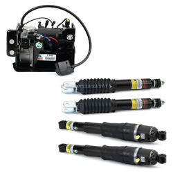 For Chevy Gmc Cadillac Arnott Front Rear Autoride Air Shocks W/ Compressor Csw