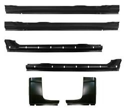 Inner And Outer Rocker Panel And Cab Corner Kit For 94-01 Dodge Ram Pickup Crew Cab