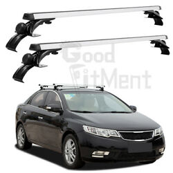 48 Top Roof Rack Cross Bar Luggage Bicycle Carrier For Kia Forte Soul Optima