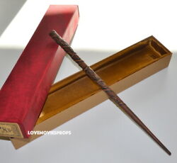 Rare Hermione Wooden Wand Wood New Harry Potter Prop Replica Wizarding World