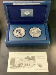 2013 United States Mint American Silver Eagle West Point Two Coin Set - Vwg 19