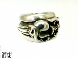 Chrome Hearts Dagger Heart Ring Sv925 Silver About 10 Mens Women And039s Popular