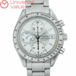 Secondhand Omega Speedmaster Date 3513.30 Mens Automatic Wristwatch