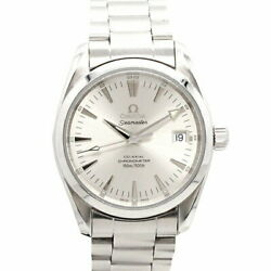 Omega Seamaster 150m Aquaterra Coaxial 2504.30 Silver Dial Ss Menand039s Watches