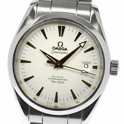 With Warranty Omega Seamaster Aquaterra Date 2503.34 Automatic Mens
