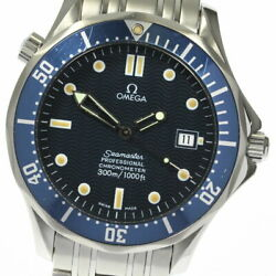 With Warranty Omega Seamaster 300 2531.80 Chronometer Date Automatic Mens
