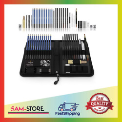 Castle Art Supplies Graphite Drawing Pencils And Sketch Set 40-piece Kit New