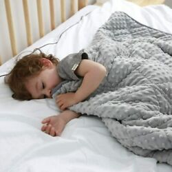 Maxtid Weighted Blanket For Kids 5lbs 36x48 Toddler Heavy Blanket Innovative One