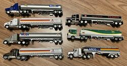 Lot 7 Matchbox Ultra Collectible Diecast Gasoline Gas Oil Promo Tractor Trailers
