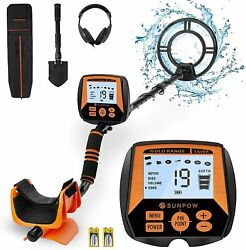Metal Detector Professional Waterproof High Accuracy 10 Inches Detection Depth