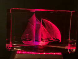 3d Laser Etched Acrylic Lucite Paperweights. Choose Many For One Shipping Cost