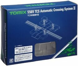 Tomix N Scale Tcs Automatic Level Crossing Ii 5569 Model Train Supplies F/s New