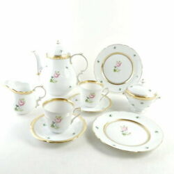 Herend Viennaand039s Roses Vrh-or-x1 Tea Set Points Cup Saucer/pot/plate Other